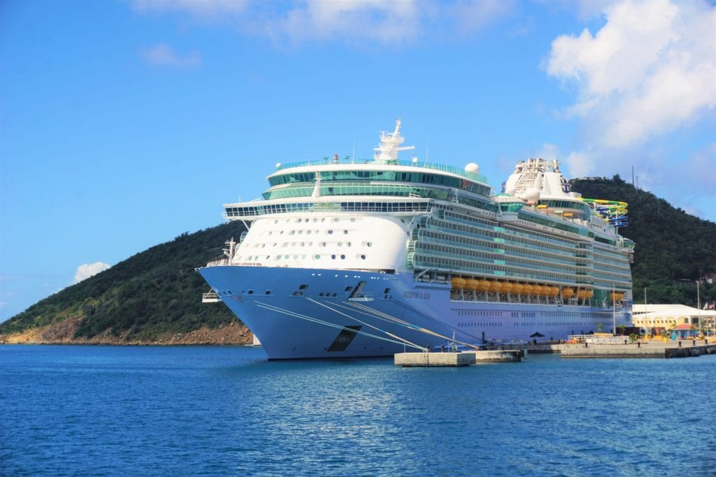 Freedom of the Seas Southern Caribbean Cruise Review - Royal Caribbean Group in U.S. Virgin Islands
