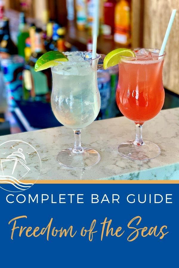 Guide to Freedom of the Seas Bars