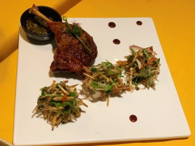Duck at JiJi Asian Kitchen on Carnival Cruise Line