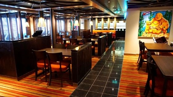 JiJi Asian Kitchen Restaurant Review from Carnival Panorama