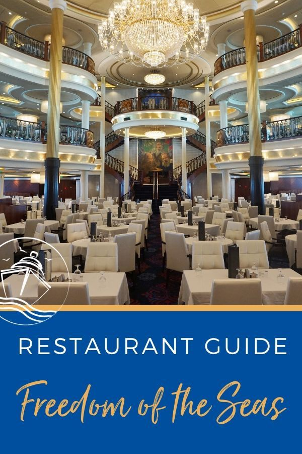 Restaurant Guide to Freedom of the Seas
