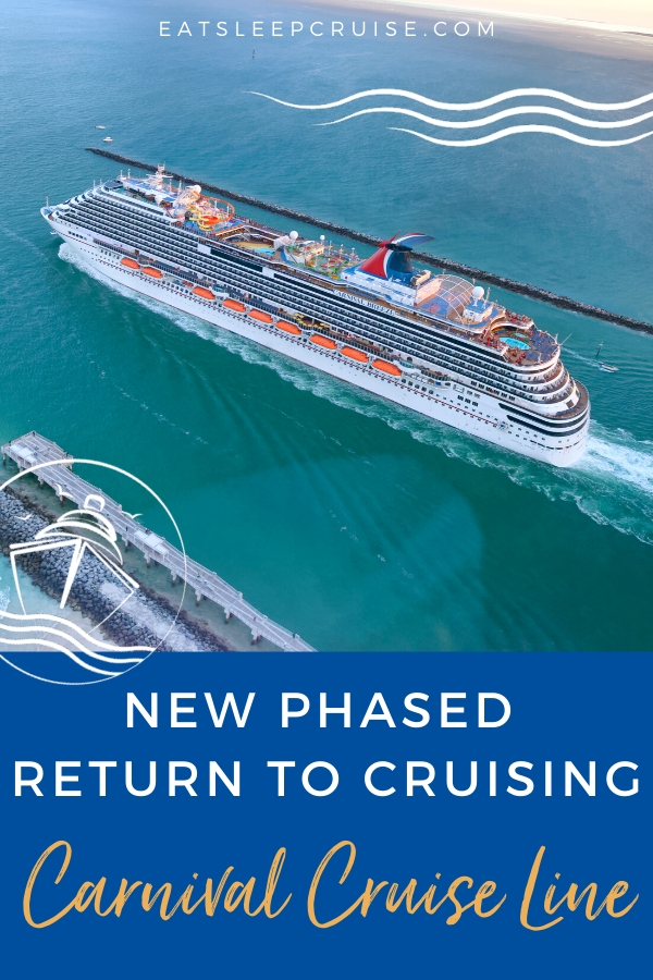 Carnival Cruise Line plan for return to service