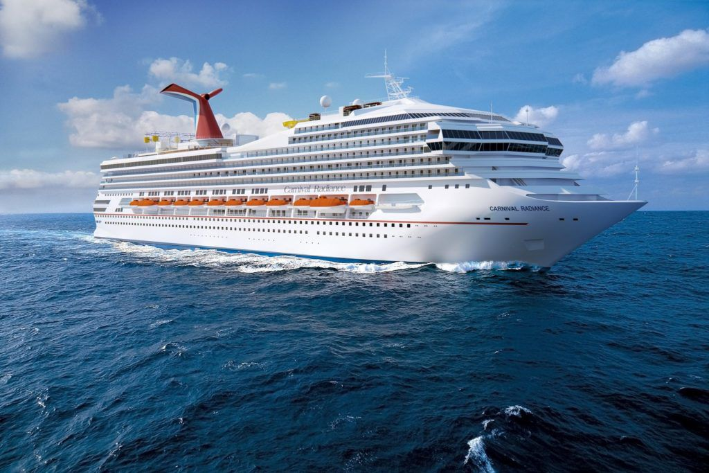 Cruise News October 2nd - Carnival Radiance