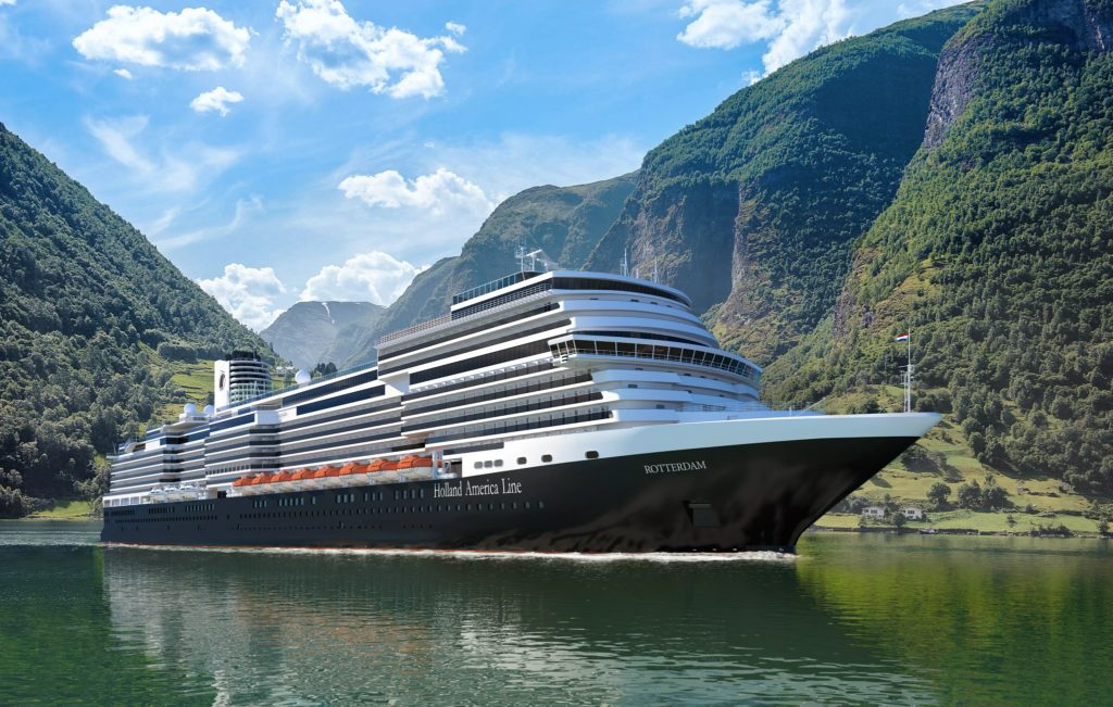 Holland America Line Takes Delivery of Rotterdam