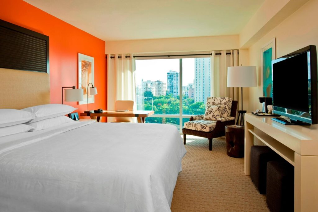 One of the best hotels near San Juan Cruise Port is the Sheraton Puerto rico Hotel and Casino
