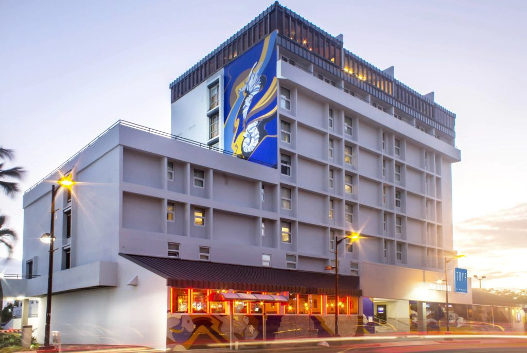 Tryp by Wyndam ranks as one of the top hotels near the San Juan cruise port