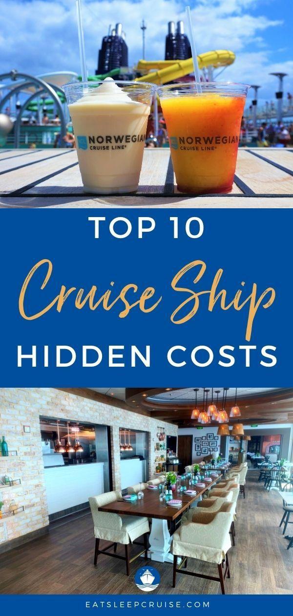 Top Cruise Ship Hidden Costs