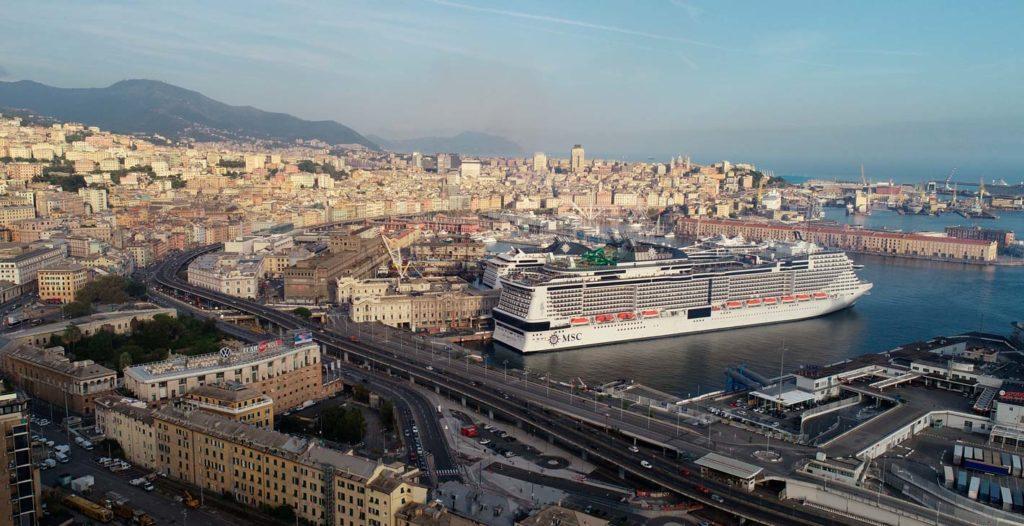 MSC Grandiosa Sets sail