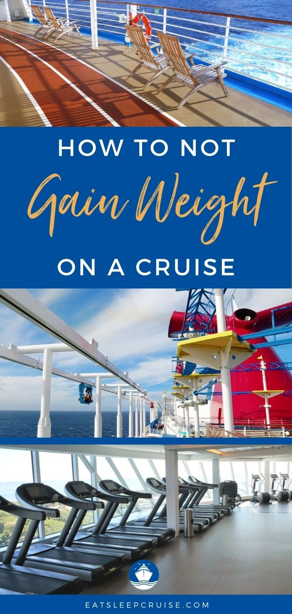 How to Avoid Weight Gain on a Cruise