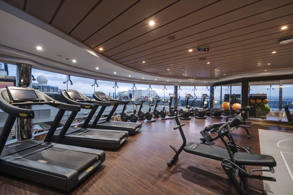MSC Meraviglia, MSC Gym by Technogym®