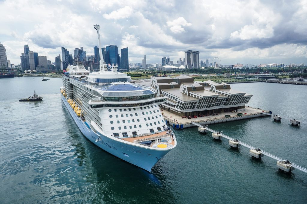 Quantum of the Seas Sails from Singapore Cruise News October 9th