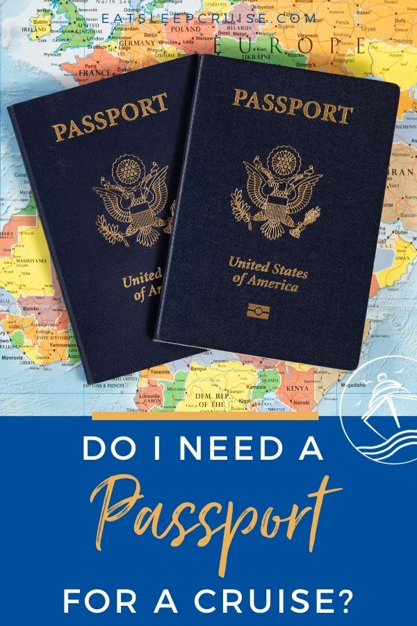 passport to go on a cruise