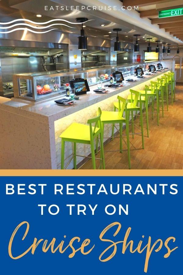 Best Cruise Ship Restaurants