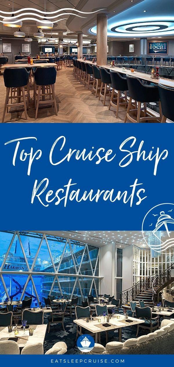Best Cruise Restaurants