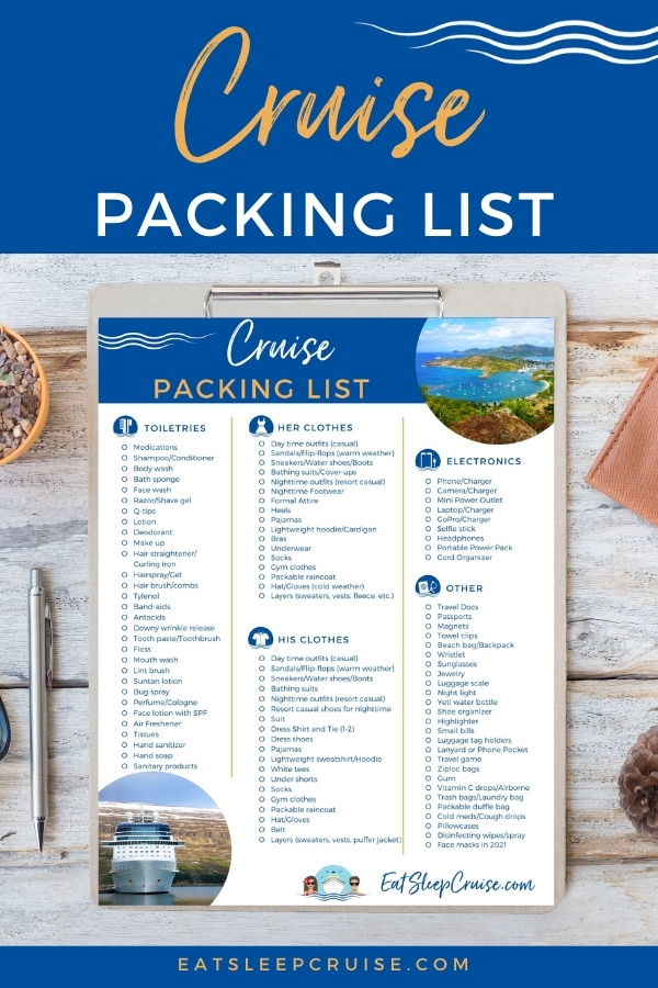 What to Wear on a Cruise - Cruise Packing List