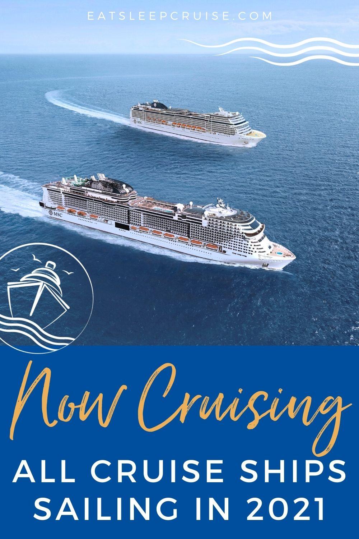 All Cruise Ships Cruising in 2021