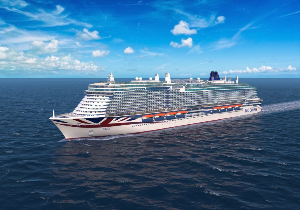 P&O Cruises Arvia to Cruise from the Caribbean