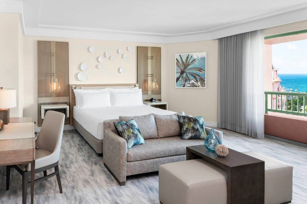 The Royal at Atlantis is one of the top hotels near Nassau, Bahamas Cruise port.