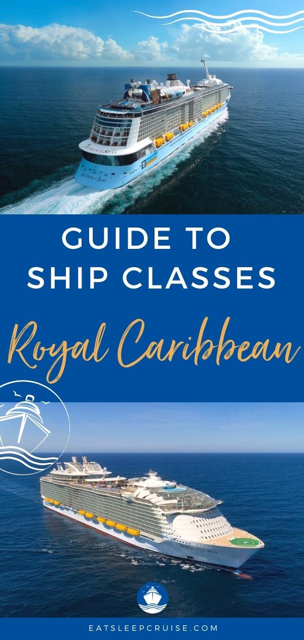 royal caribbean cruise ship classes