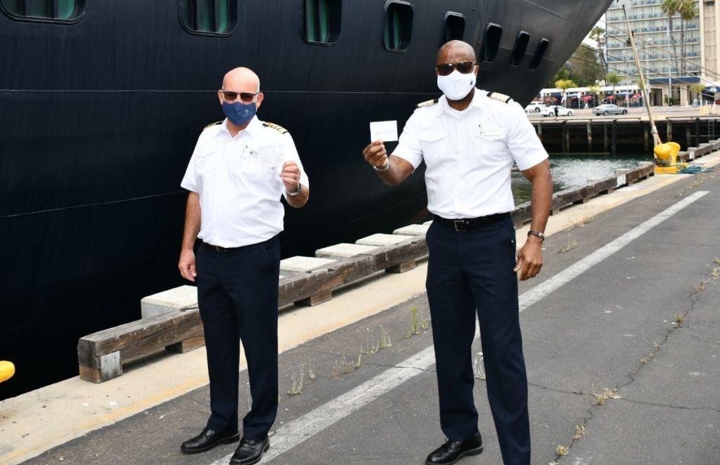 Holland America Crew Get Vaccinated