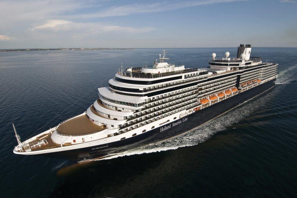 Holland America Line's Eurodam Extends 2021 Mediterranean Cruise Season