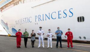 Princess Cruises Crew Get Vaccinated