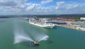 MSC Virtuosa Arrives in Southampton