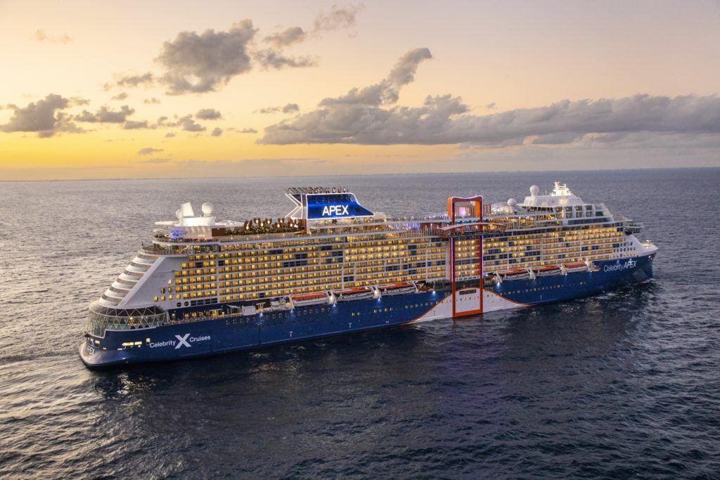 Celebrity Apex Debuts - Celebrity Cruises Invites You to See This Wonderful World Again