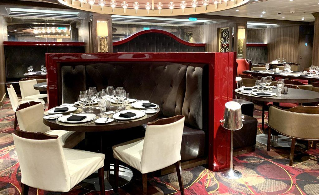 Chops Grille on Adventure of the Seas