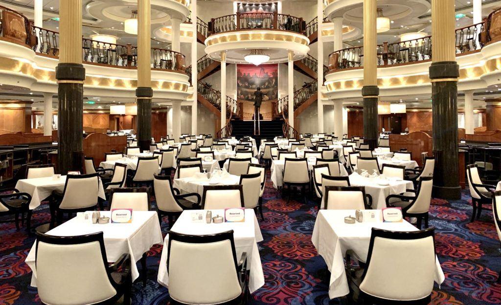 Adventure of the Seas Restaurant Menus