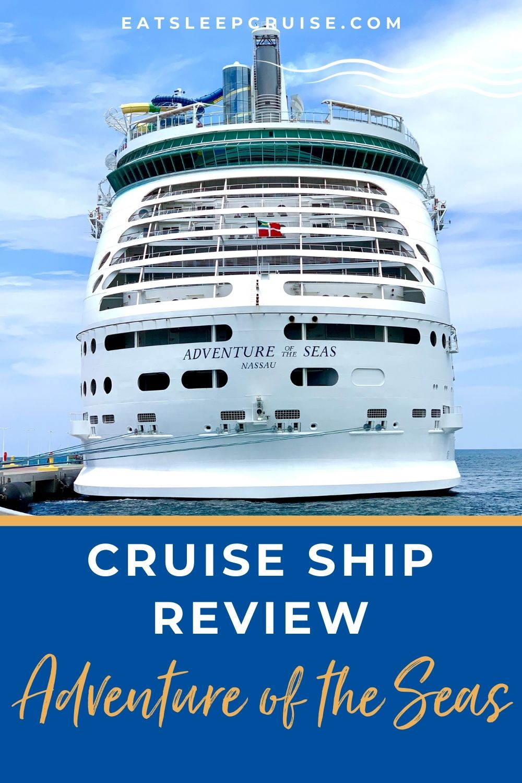 Adventure of the Seas Cruise Ship Scorecard