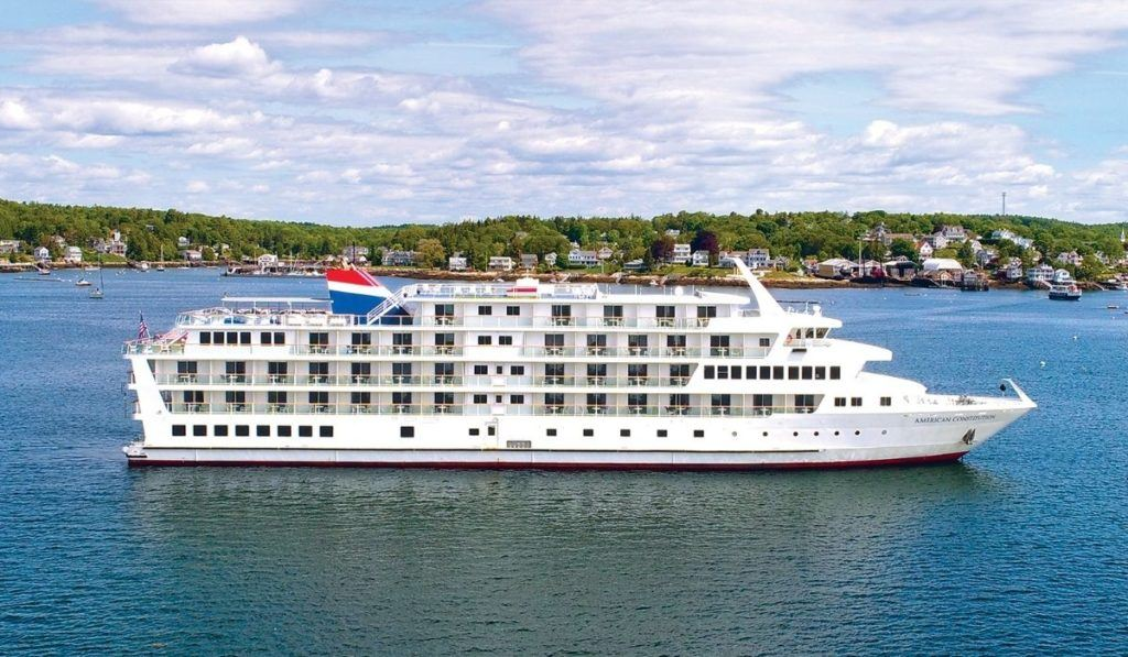 American Cruise Lines sets sail from Boston
