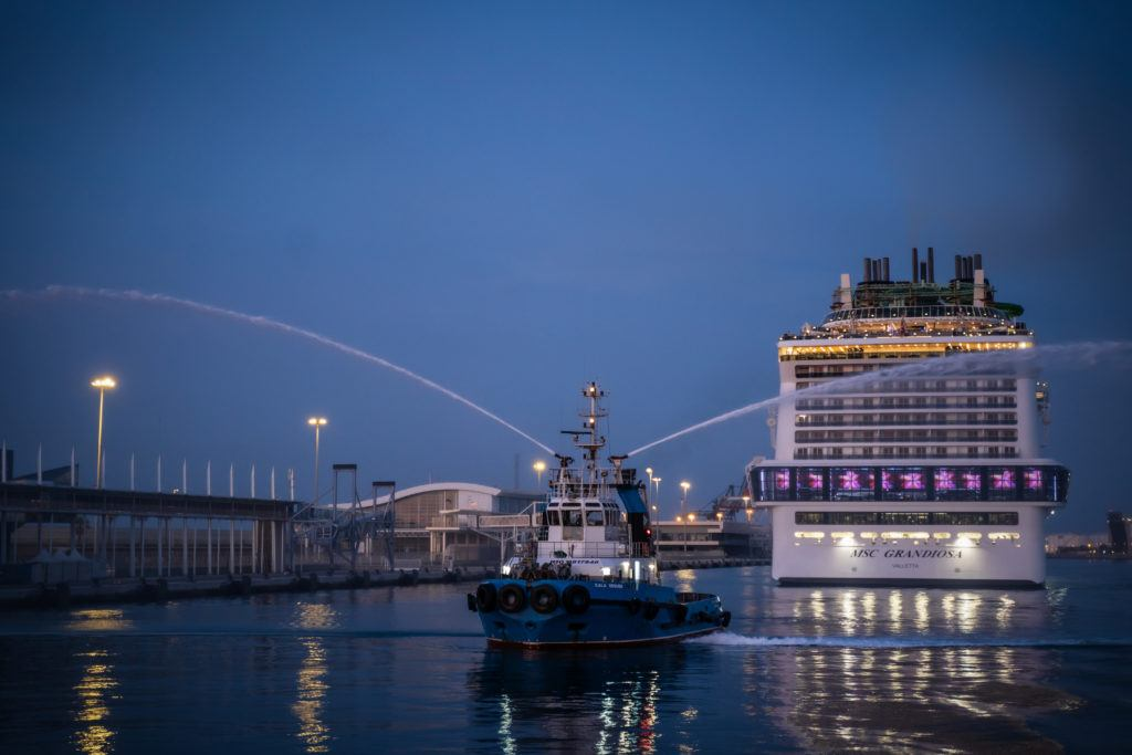 MSC Cruises Resumes Sailing From Barcelona