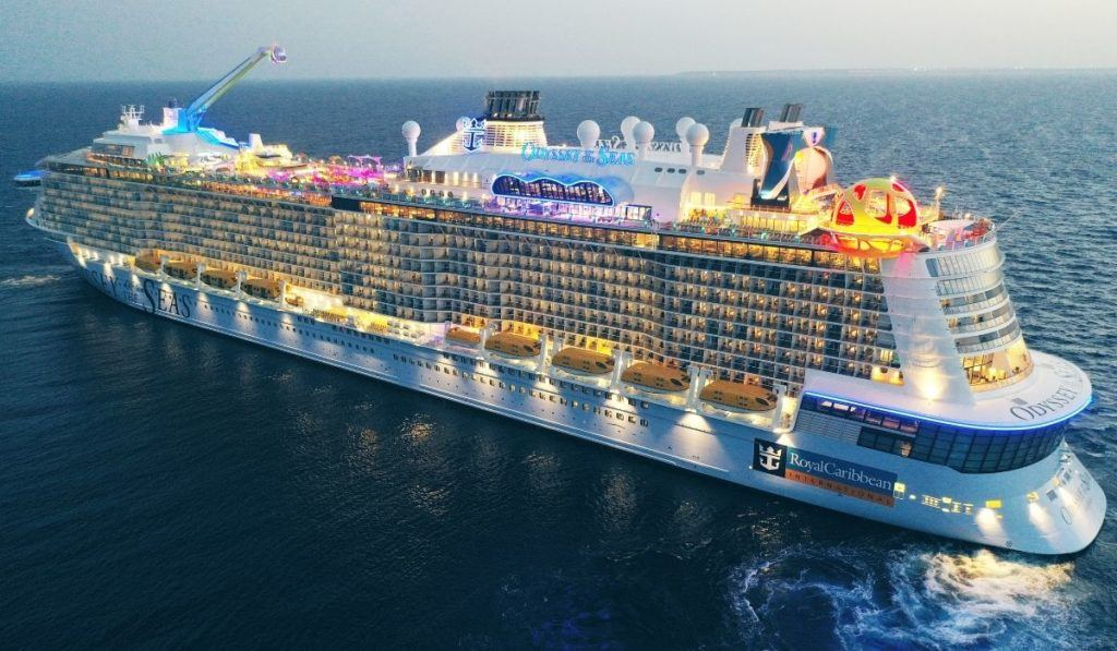 Odyssey of the Seas Virtual Reality Attraction - Odyssey of the Seas inaugural postponed