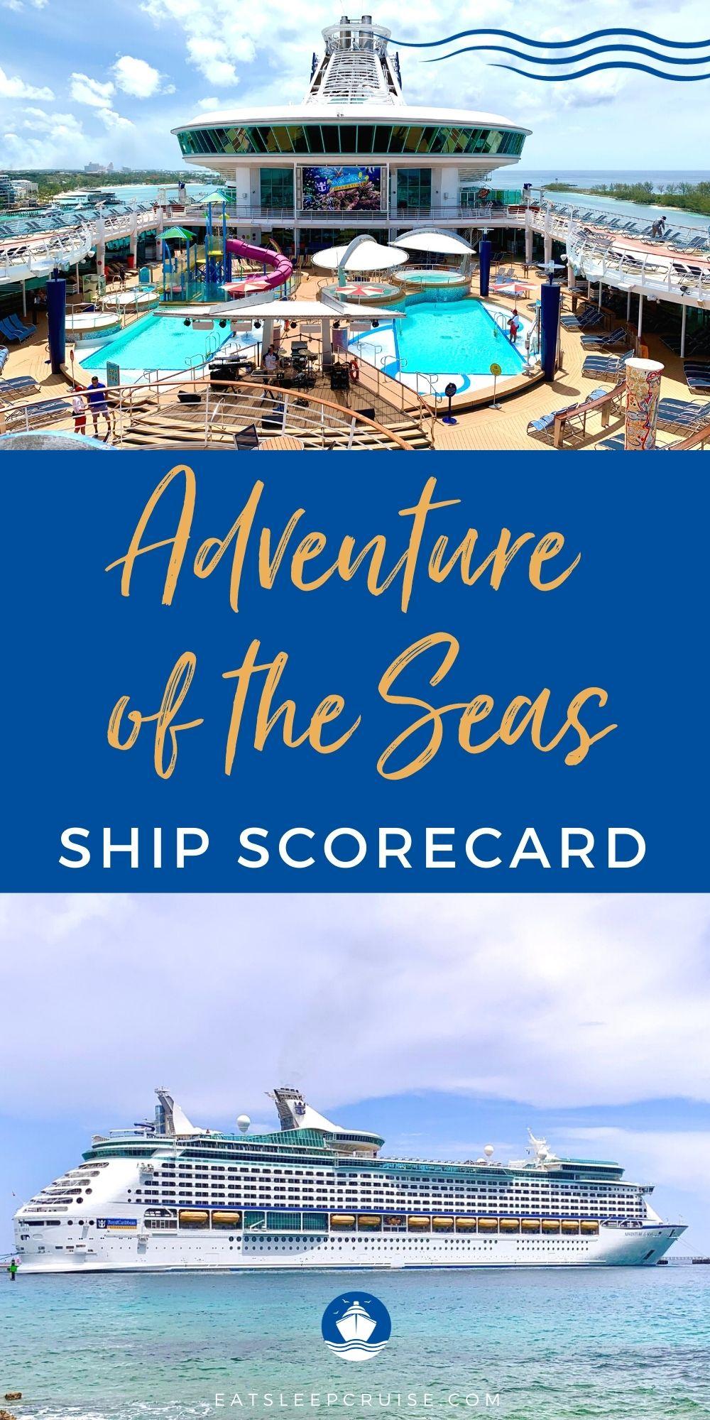 Royal Caribbean Adventure of the Seas Ship Scorecard Review