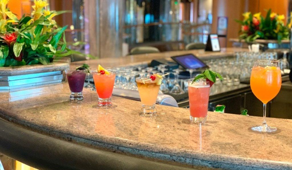 New Royal Caribbean Bar Menu Feature