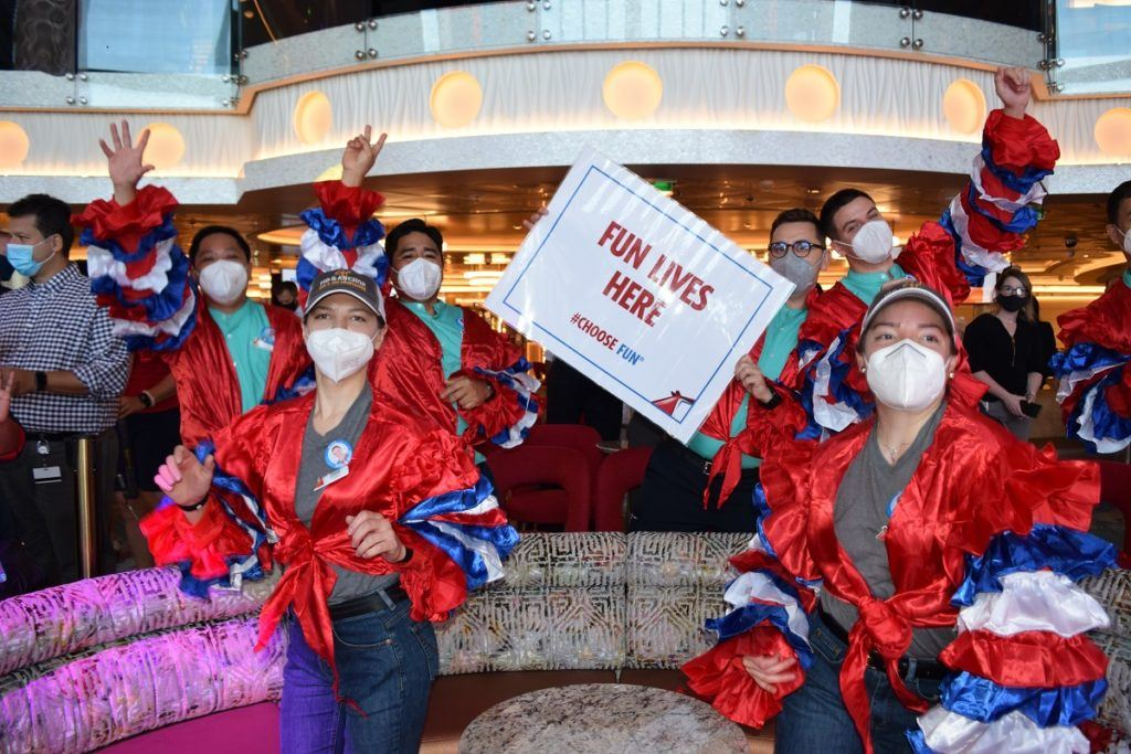 Carnival Mardi Gras Departs on Maiden Voyage Today