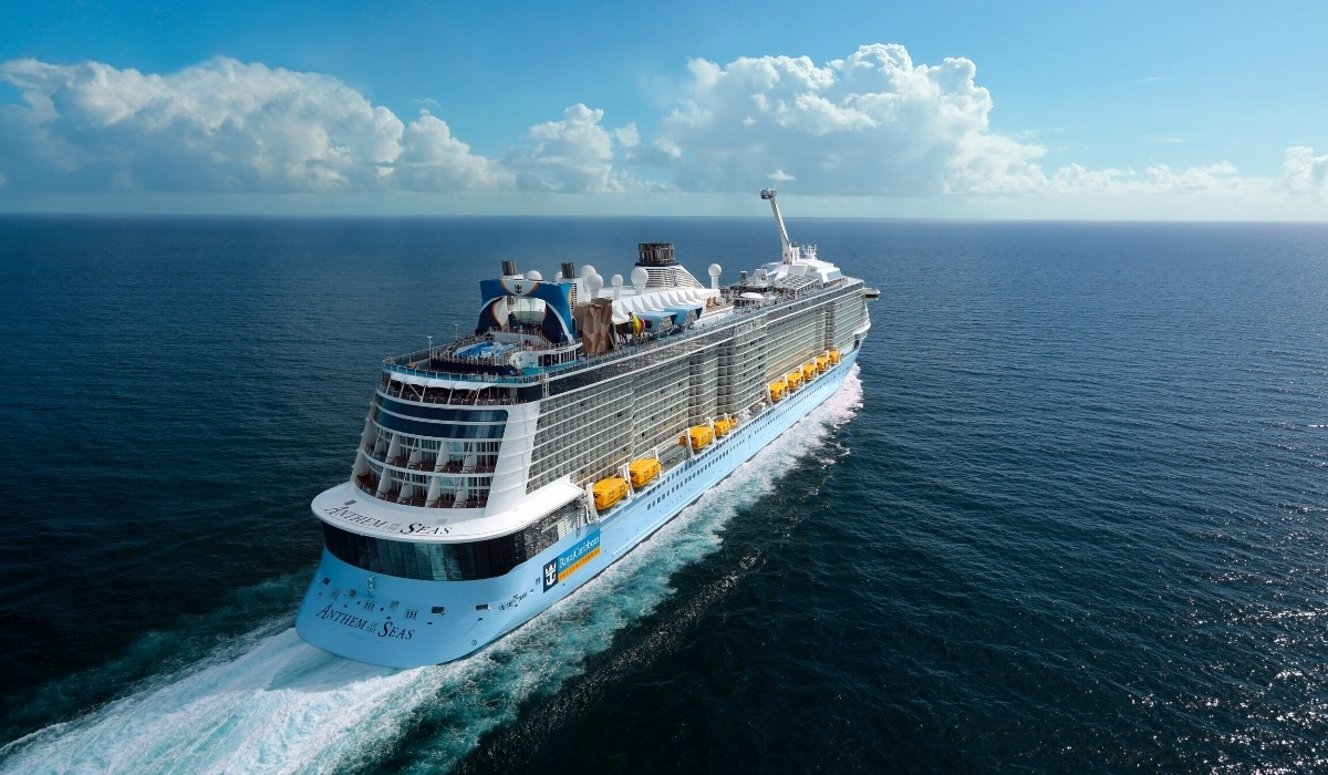 Anthem of the Seas Sets Sail From the UK
