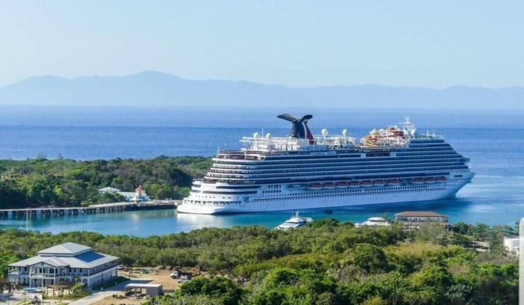 Carnival Visits Mahogany Bay and Amber Cove for First Time in 16 Months