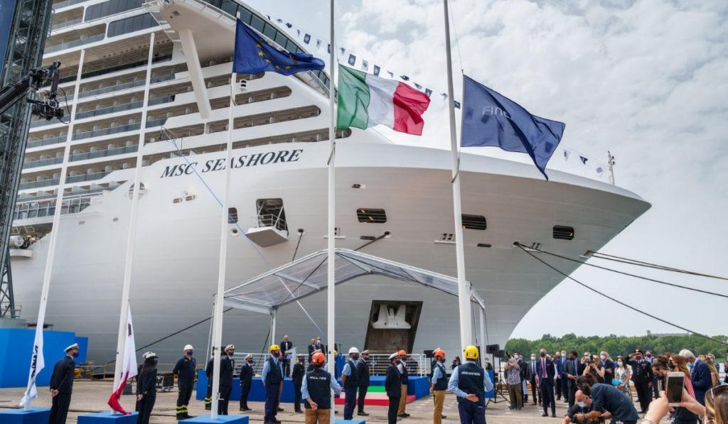 MSC Cruises Takes Delivery of MSC Seashore