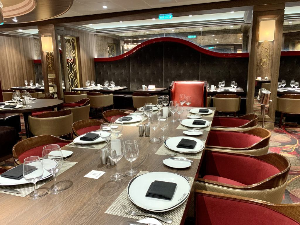Chops Grille on Adventure of the Seas Review