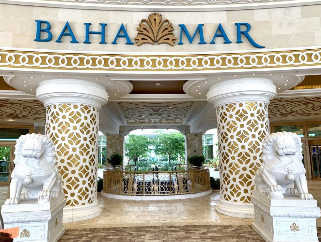 Baha Mar Entrance