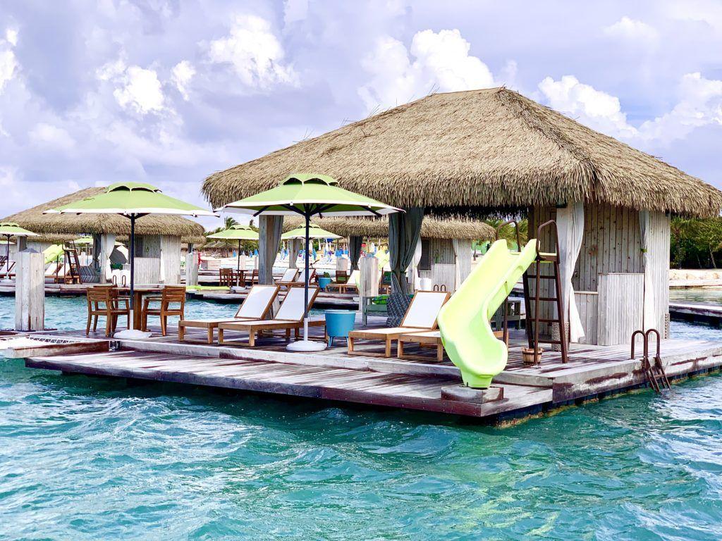 Coco Beach Club Floating Cabanas