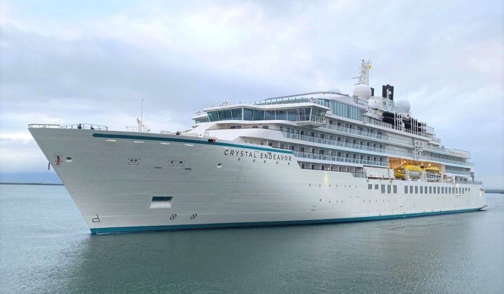 Crystal Endeavor Makes U.S. Debut This Fall - First Cruise Line Extends Vaccine Requirement Through 2022