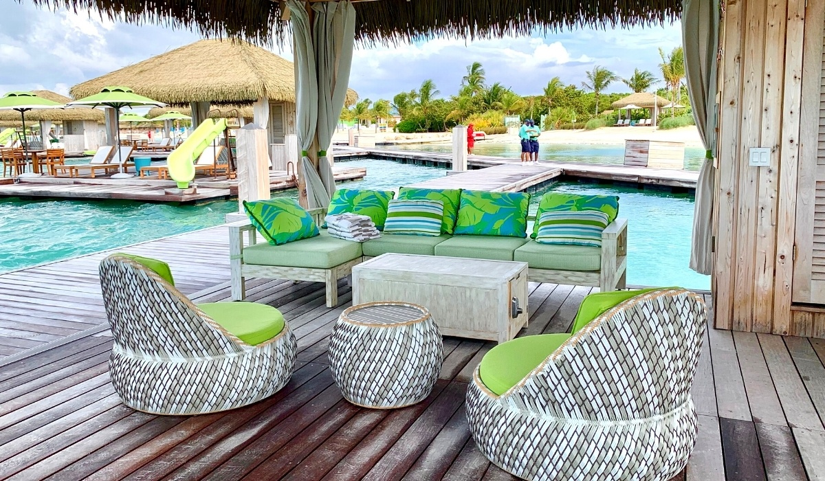 Guide to Coco Beach Club on Perfect Day at CocoCay