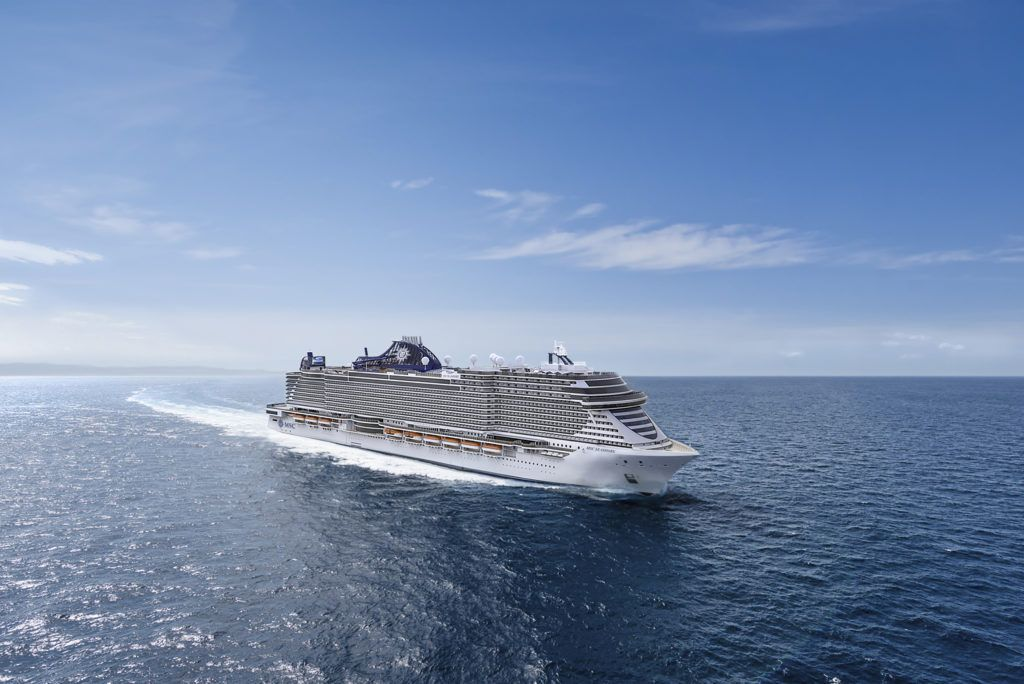 MSC Seashore Welcomes First Guests