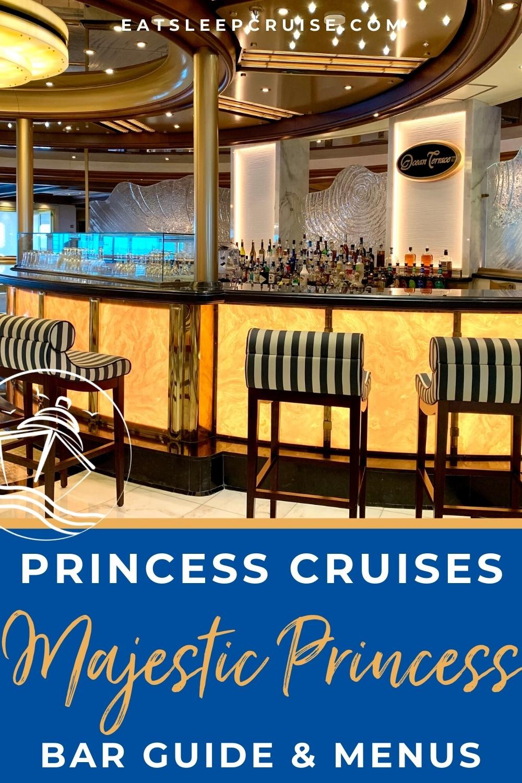 Majestic Princess Bar Guide With Menus