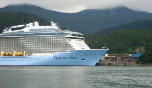 Sitka Sound Cruise Terminal Welcomes Ovation of the Seas