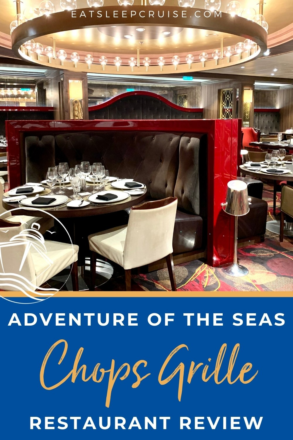 Adventure of the Seas Chops Grille Review
