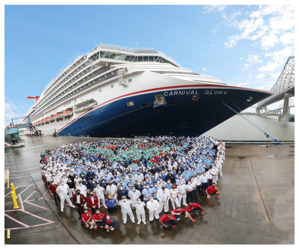 Half of Carnival Cruise Line's Fleet Is Now Back in Service